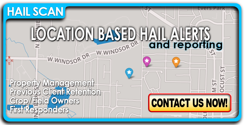 HailScan - Location based hail alerts.