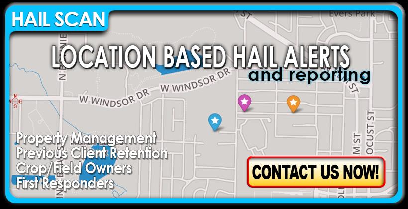 HailScan - Location based hail alerts.