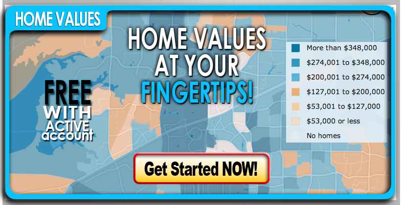 Home values at your fingertips.